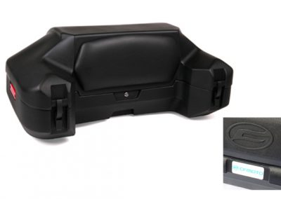 Gepäckbox CFMOTO, versperrbar mit großer Rückenlehne