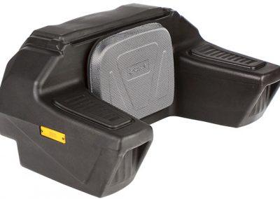 Gepäckbox CFMOTO, versperrbar mit großer Rückenlehne und Armauflagen