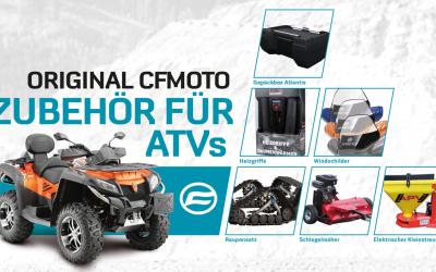 Zubehör für Ihr CFMOTO ATV oder SSV