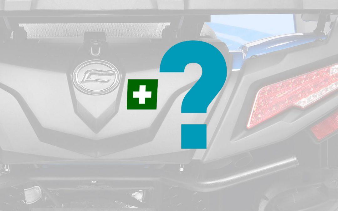 Muss man in einem Quad oder ATV einen Verbandskasten mitführen?