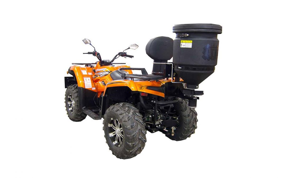 NEU: Universal-Kleinstreuer für alle ATVs