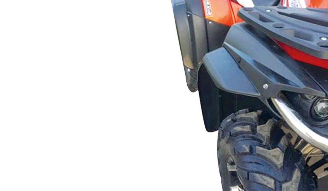 Bulligerer Auftritt – besserer Schutz: Radkastenverbreiterungen für CFMOTO ATVs