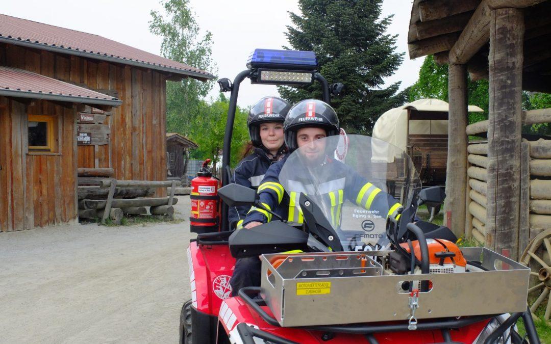 CFMOTO CForce 450 als Feuerwehr-ATV